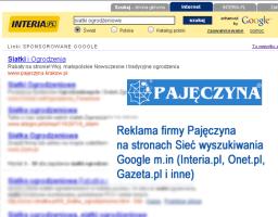 Kampania reklamowa Pajęczyna