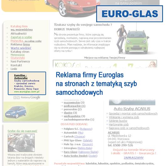 Kampania reklamowa Euroglas