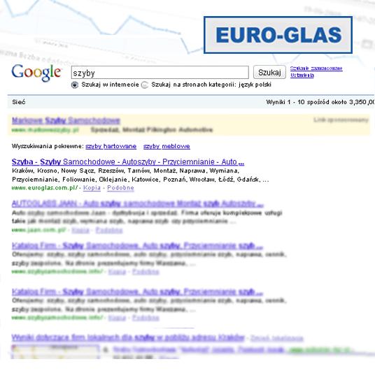 Pozycjonowanie Euroglas