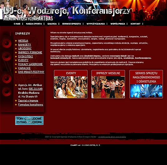 Artbas - strona główna