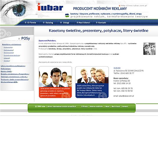 Iubar - strona główna