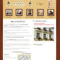 Hotel Karmel - O Hotelu