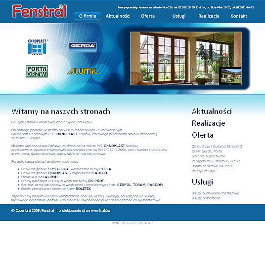Fenstral - strona główna