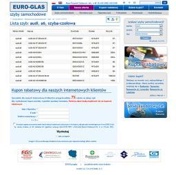 Euroglas - katalog szyb samochodowych