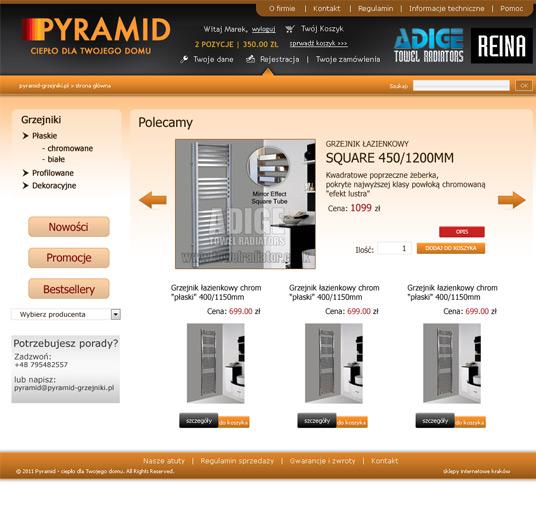 Pyramid - strona główna