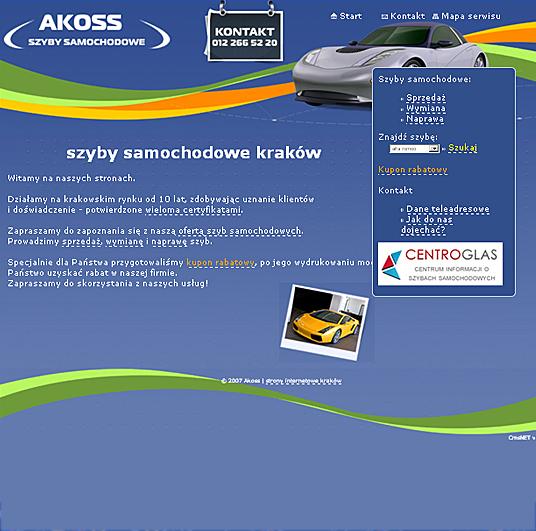 Akoss - strona główna