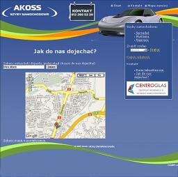 Akoss - Jak do nas dojechać?