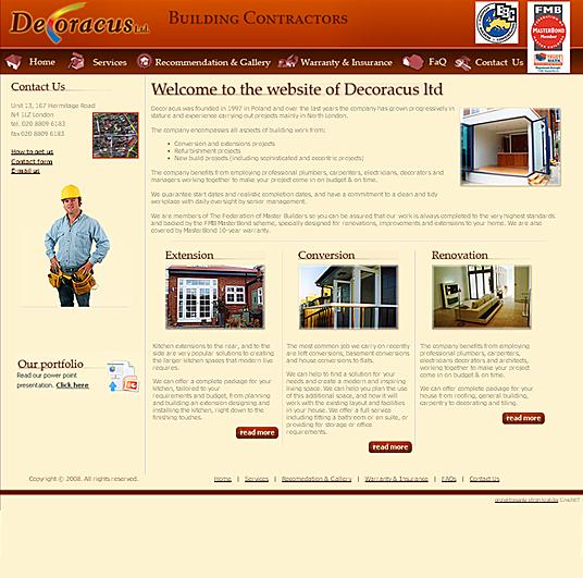 Decoracus - strona główna