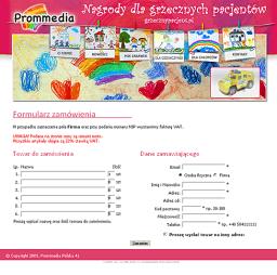 Prommedia - formularz zamówienia
