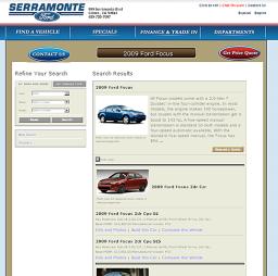 Serramonteford - oferta