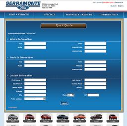 Serramonteford - formularz rezerwacji
