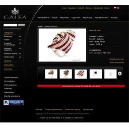 Galea.com.pl - lista towarów