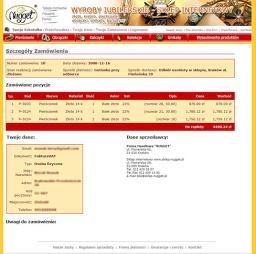 Sklep.nugget.pl - Składanie zamówienia